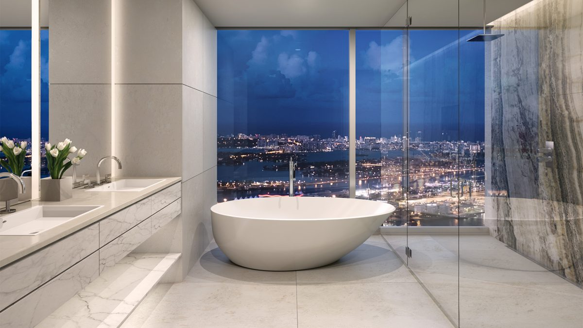 Bathrooms - One River Point